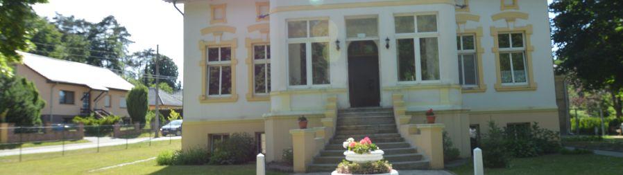 Portal der Villa Lanke